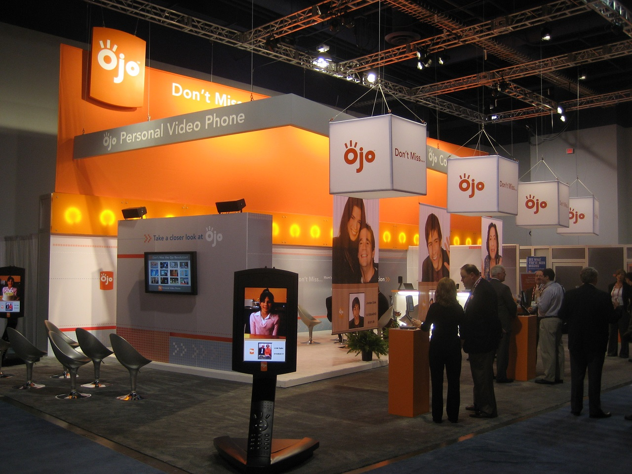 Educational Trade Show Booth