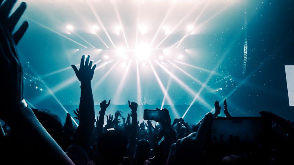 Concert held in a venue in Manila