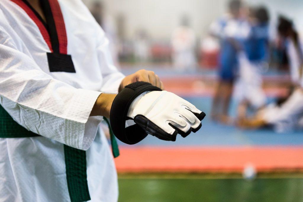 Sporting event held in a venue in Manila