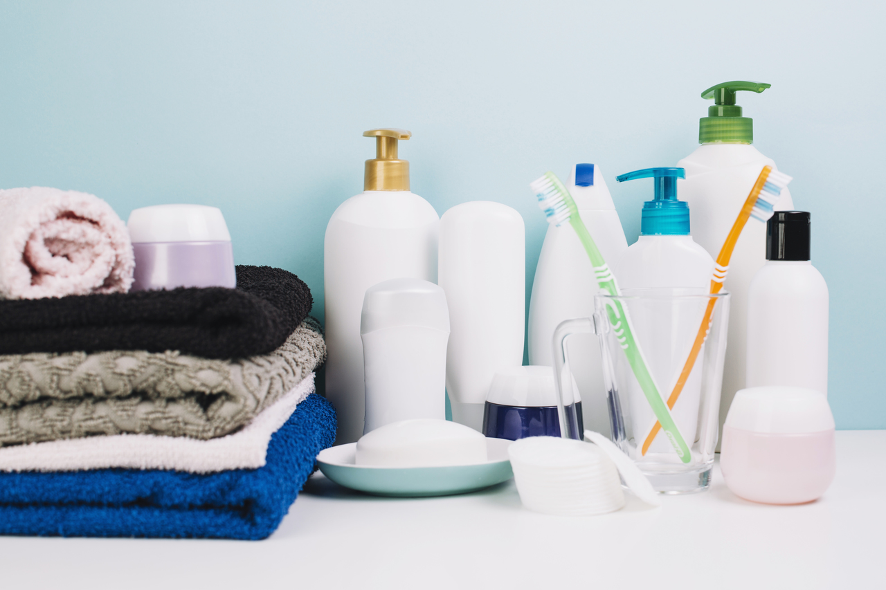 Hygienic products for a quarantine facility