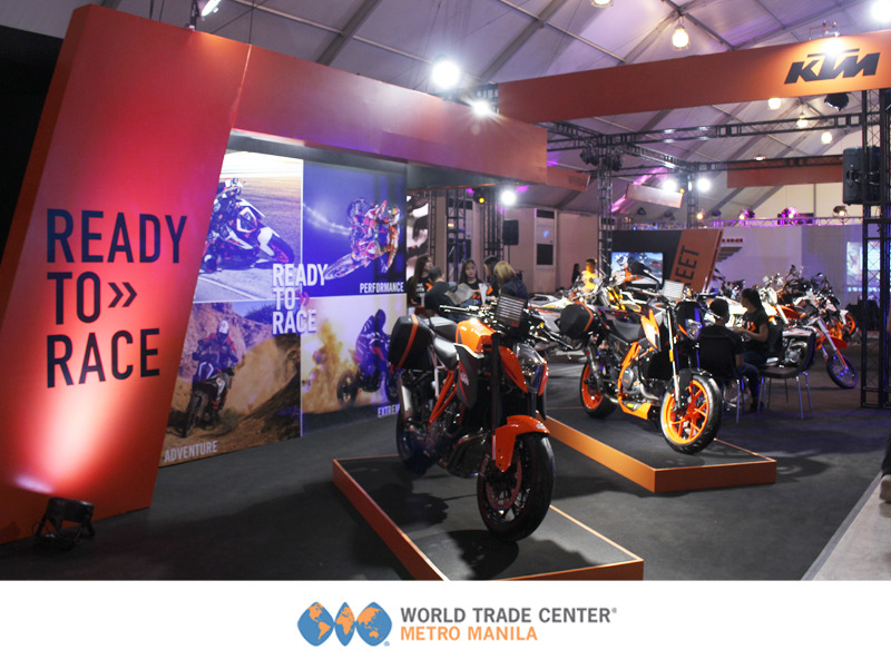Inside Racing Bike Festival and Trade Show held in a venue in Manila