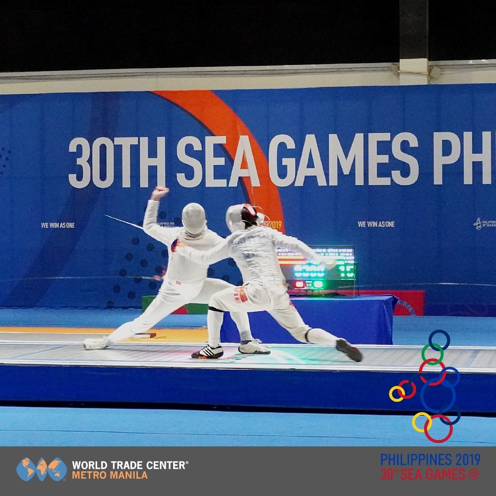 SEA Games held in the best exhibition center in the Philippines