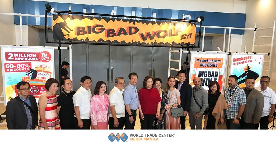 Big Bad Wolf Book Fair held in the best Events Place in Manila